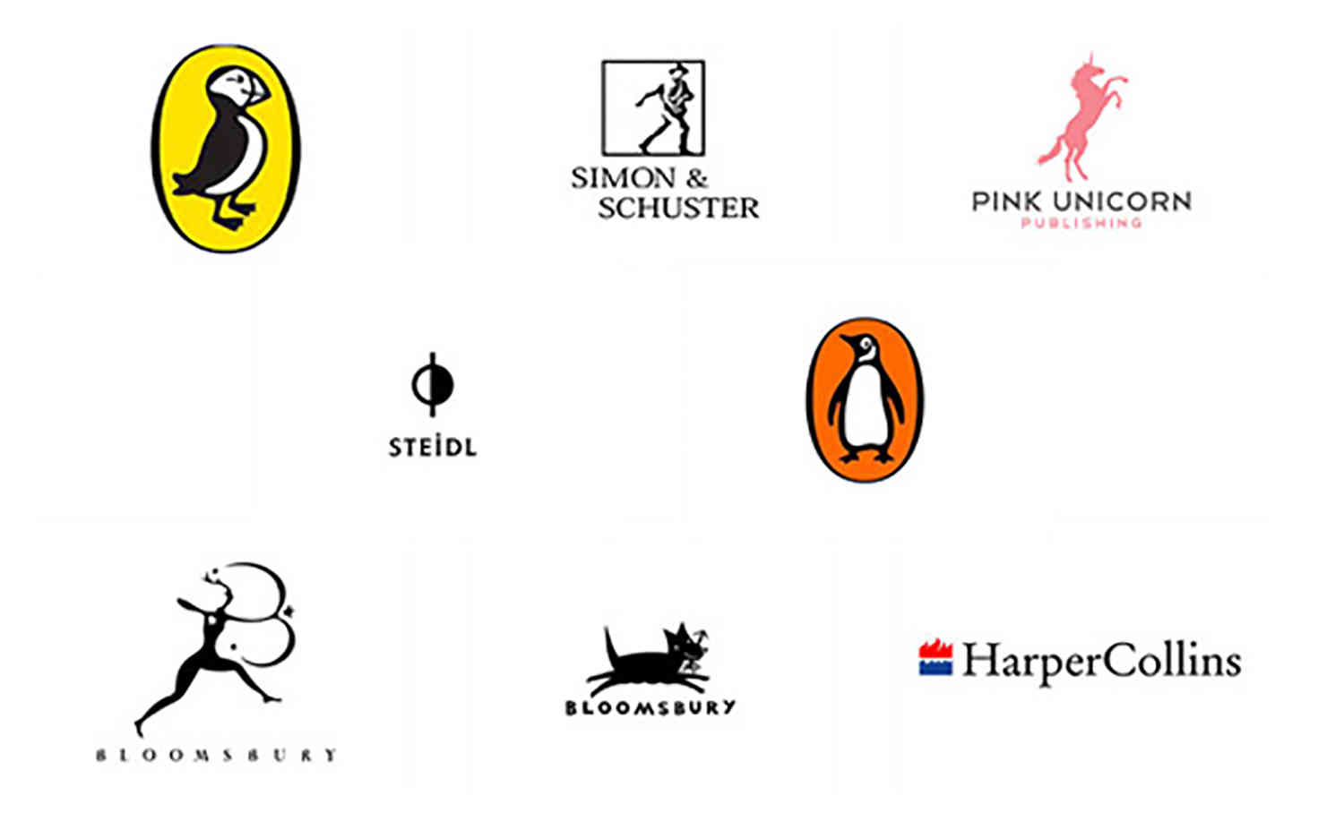 publishing company logo styles to reel in writers