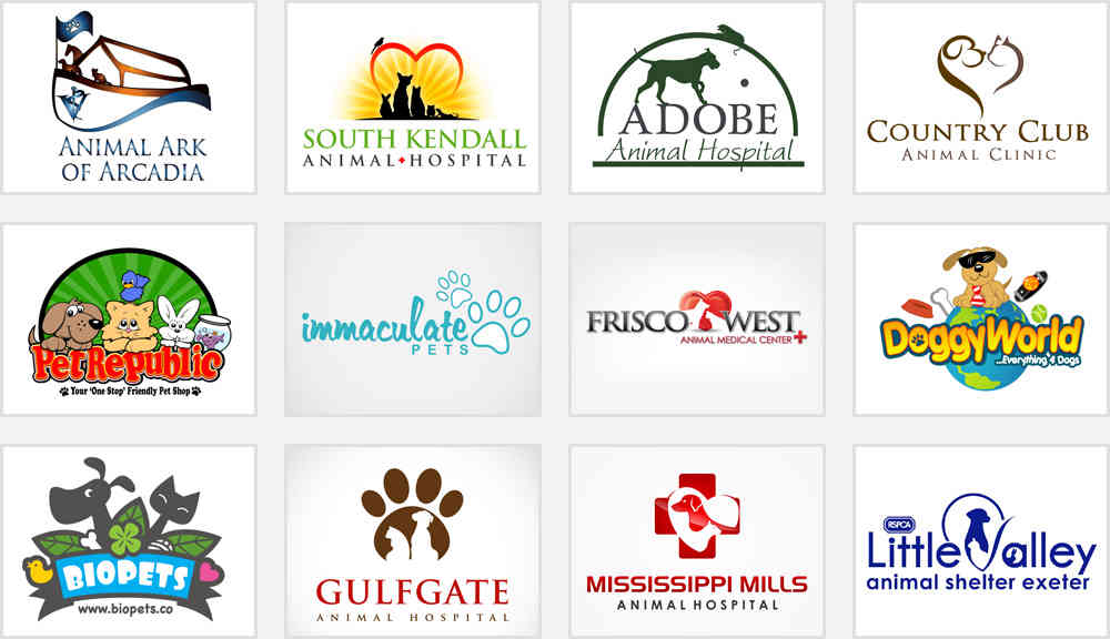 5 Adorable Pet Store And Service Logos