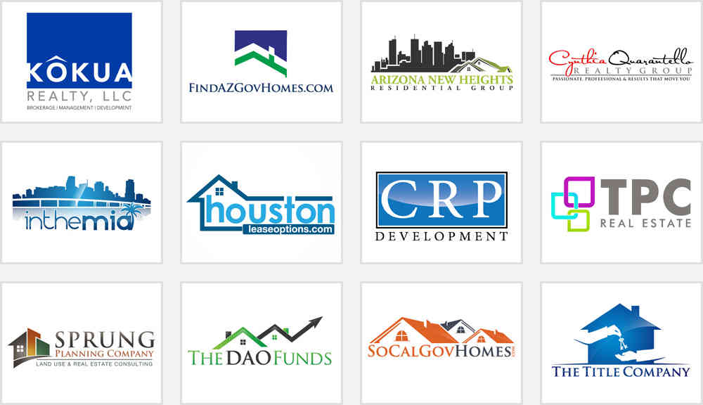 1000  images about real estate logos on pinterest