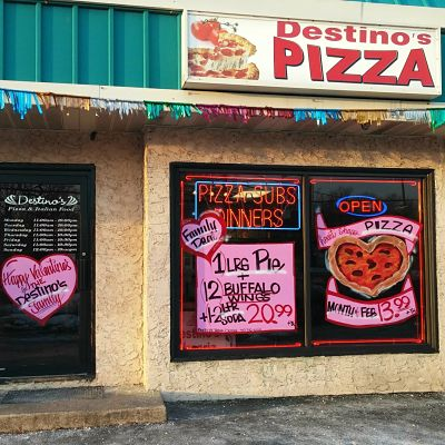 Destino's Pizza, Jackson NJ