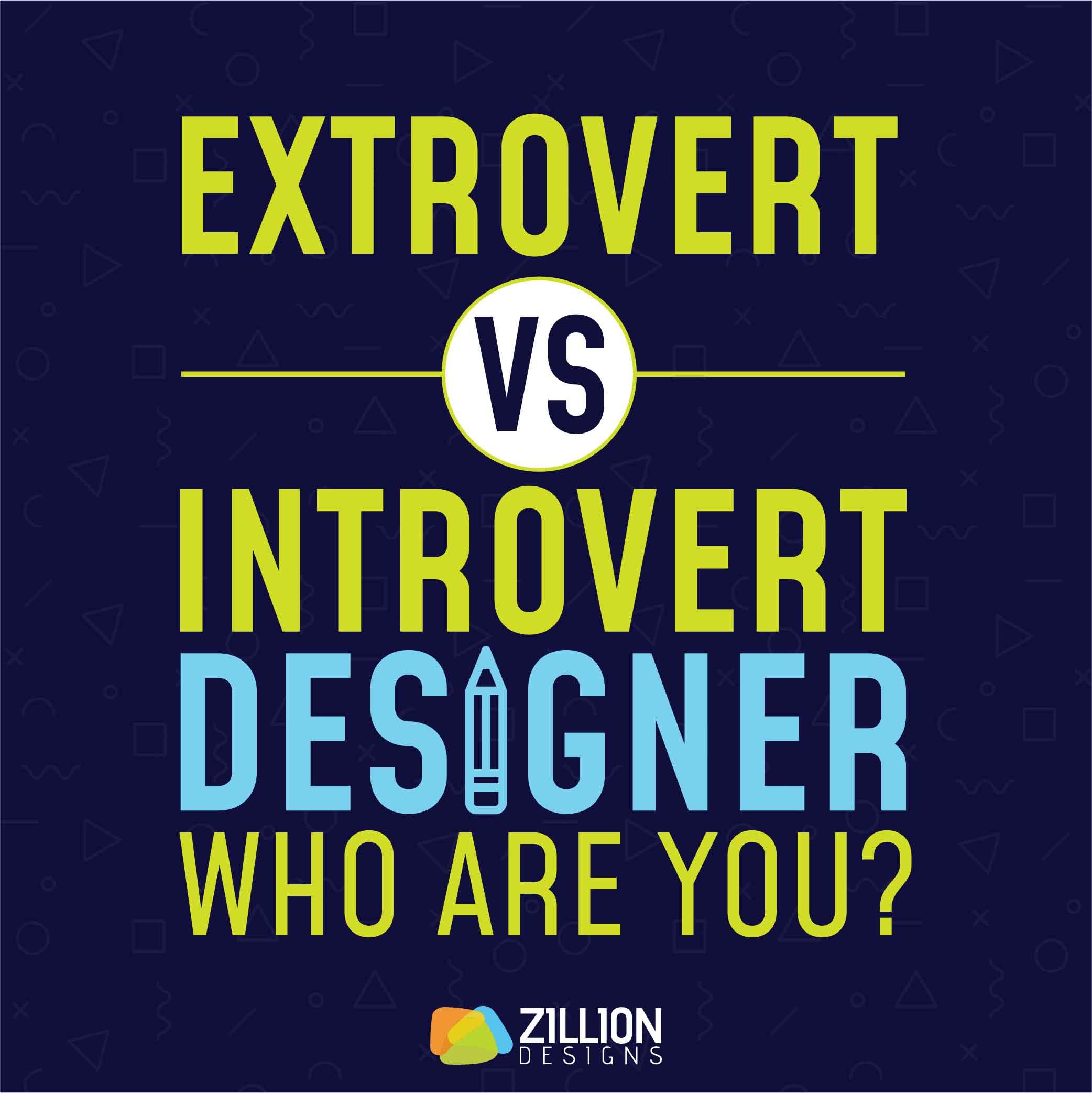 Extrovert vs Introvert Designers 1