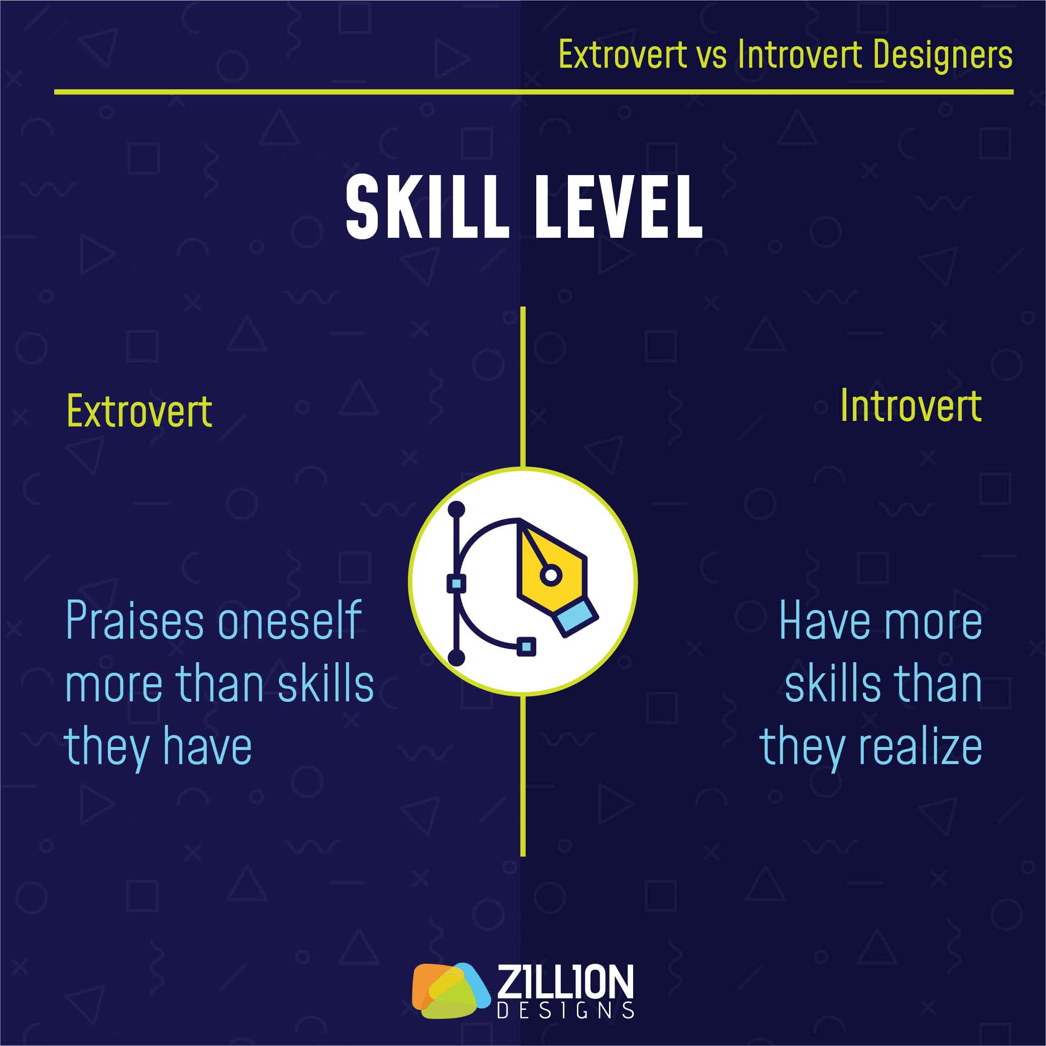 Extrovert vs Introvert Designers 7