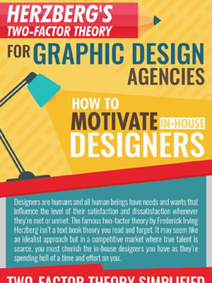 Herzberg's Two-Factor Theory For Graphic Design Agencies – How To Motivate In-House Designers