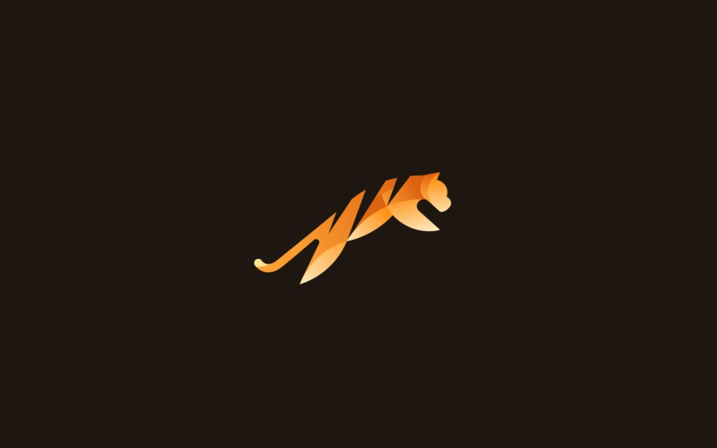 Tiger logo design by Tom Anders