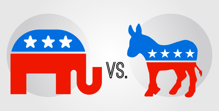 Us Democratic And Republican Logo Designs In this gallery donkey we have 46 free png images with transparent background. us democratic and republican logo designs