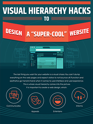Visual Hierarchy Hacks To Design A Super-Cool Website