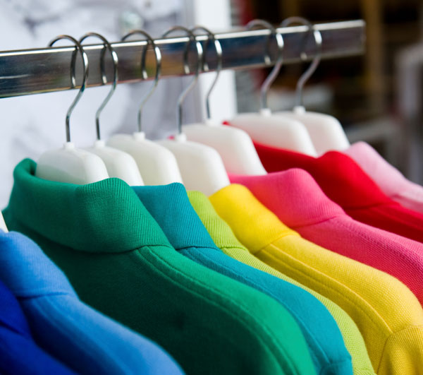Colors on clothing