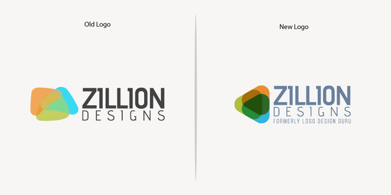 ZD old and new logo