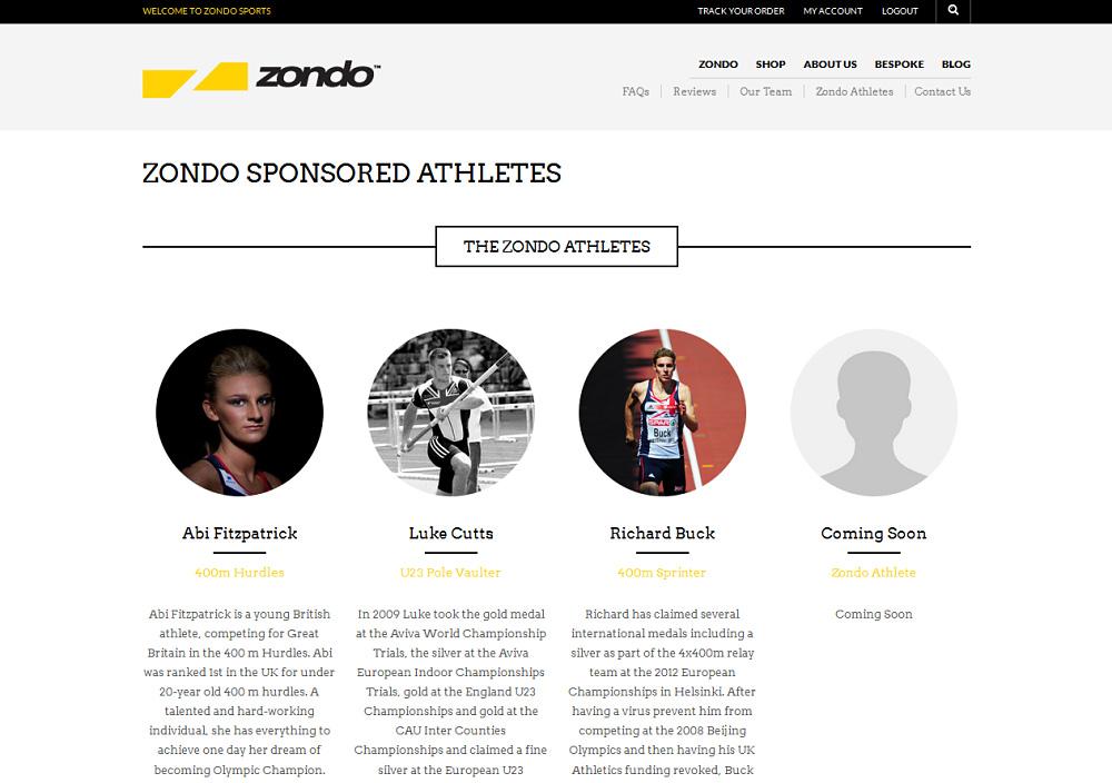 Zondo Athletes opt