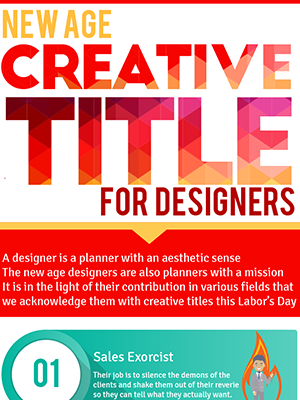 New Age Creative Titles For Designers