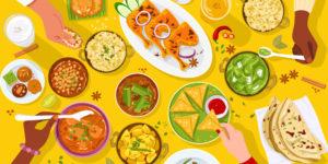 Modern Indian Restaurant Branding Serving Traditional Cuisines