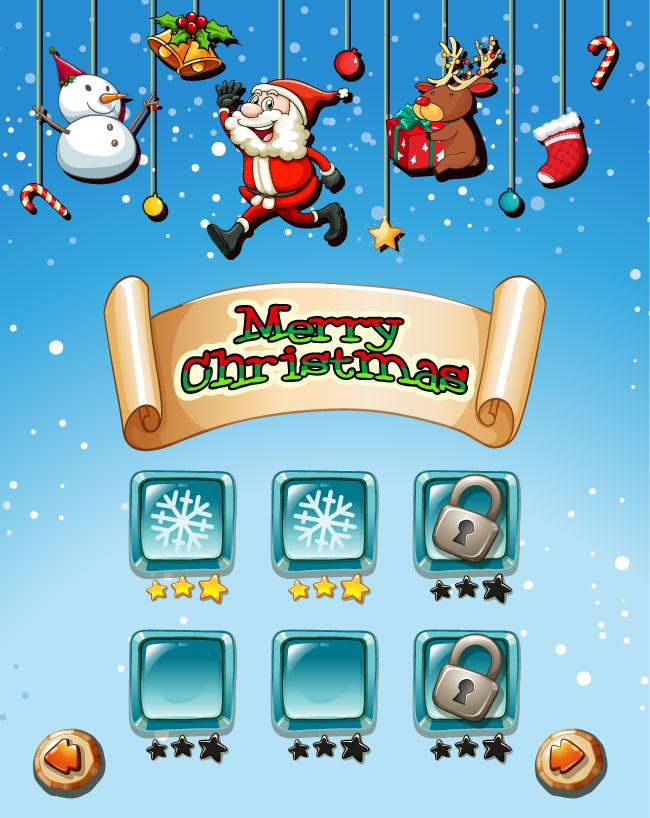 merry christmas on game