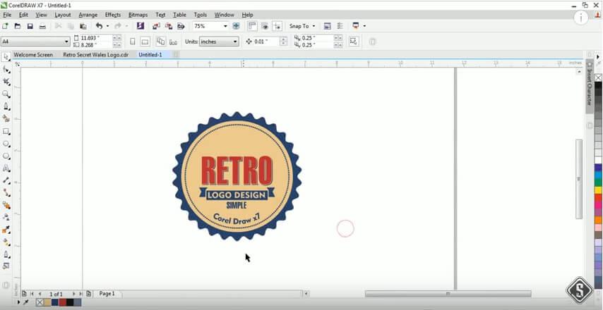 How To Design A Modern Logo Adobe Illustrator Vs Corel Draw Zilliondesigns Com
