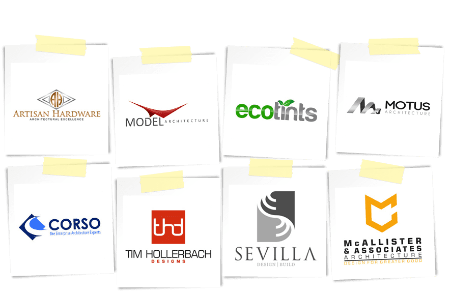 architecture and interior design logos from design contests