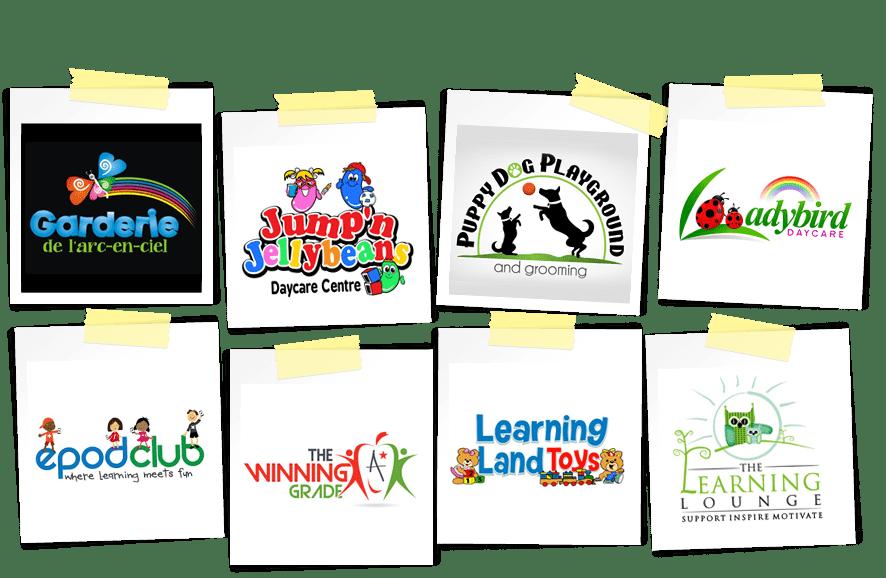 Education institution logos from logo design contest