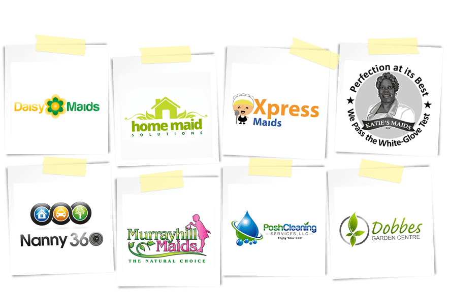 home and office maintenance logos