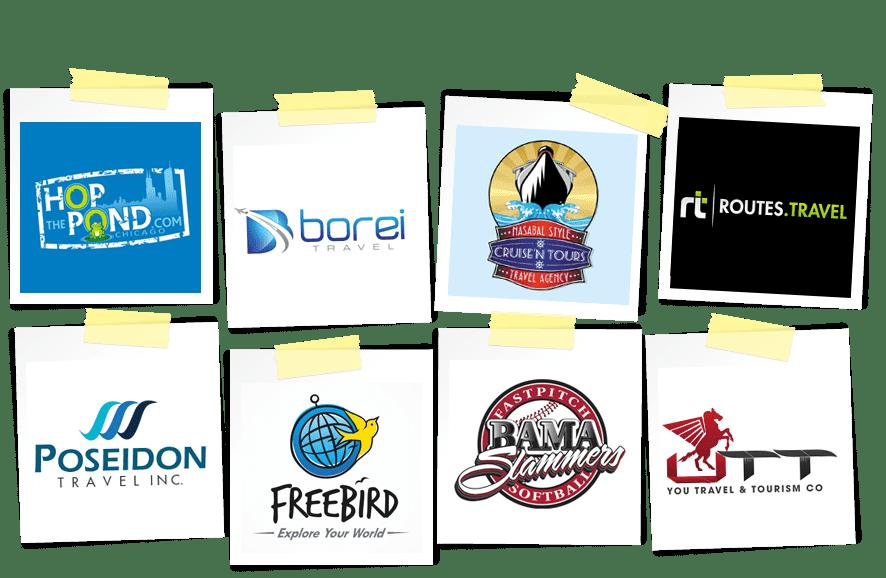 travel logo samples