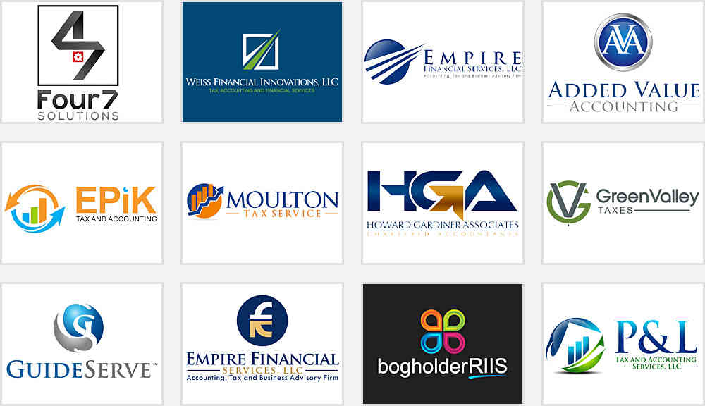 accounting firm logo designs
