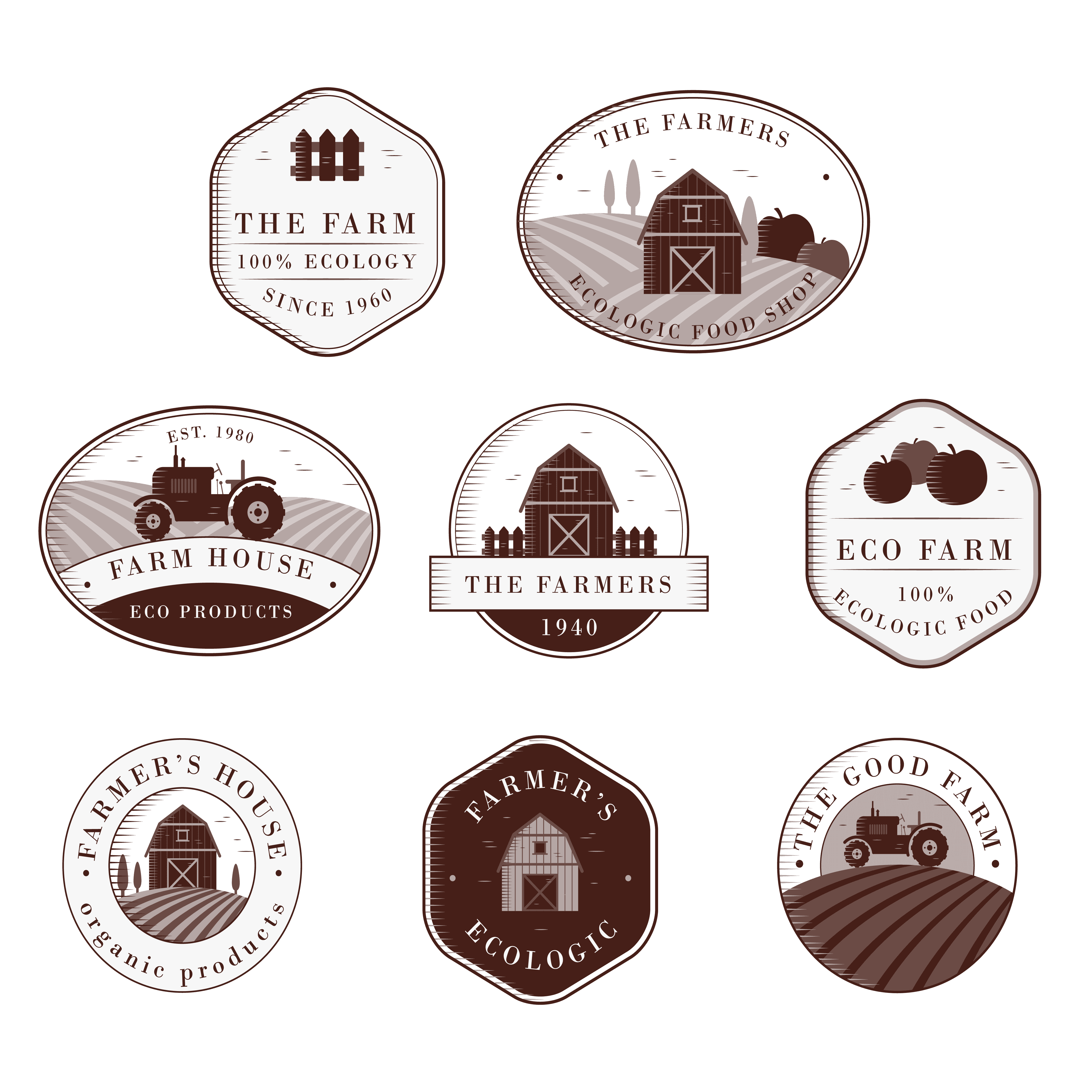 Agriculture Logo Samples