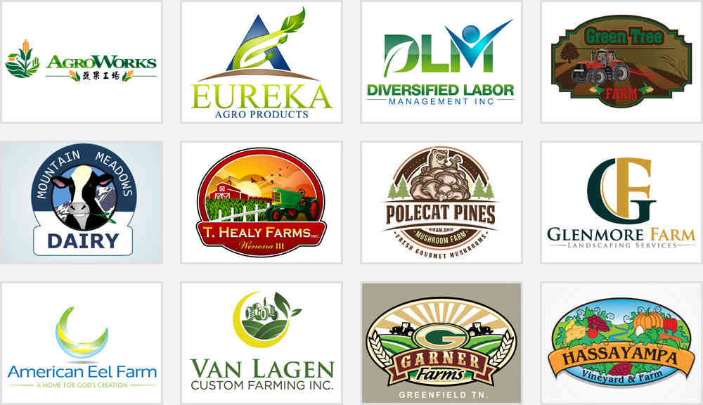 agriculture and farm logo designs that earn trust zillion designs