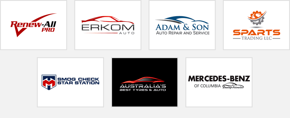 automotive car company logo design samples