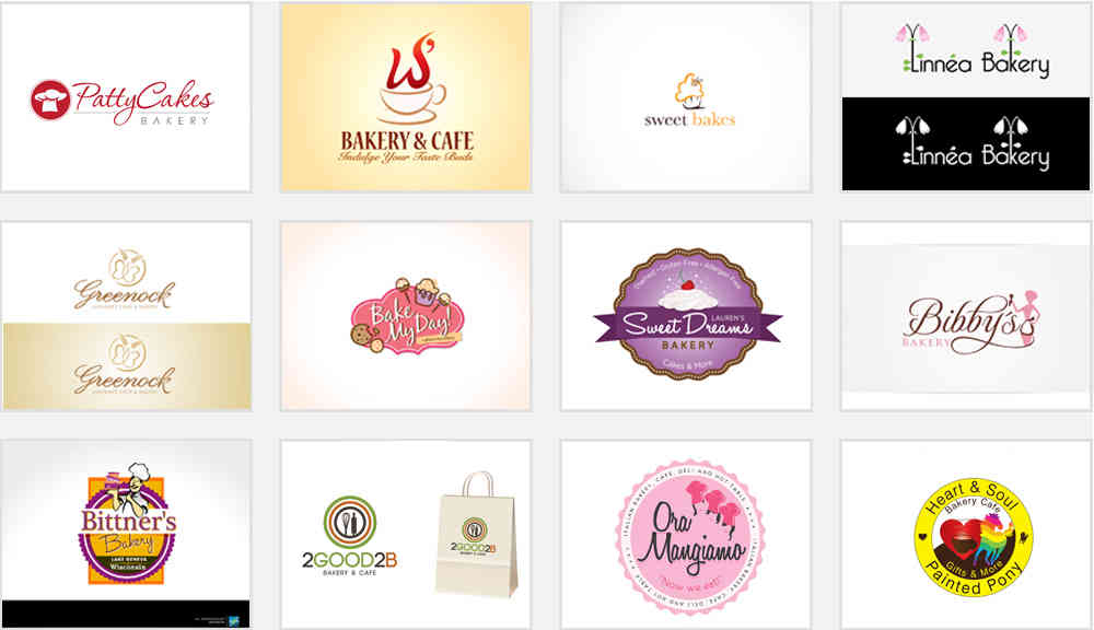 Bakery and Patisserie Logos