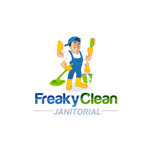 commercial cleaning business logo
