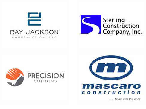 construction company logos that boast great workmanship