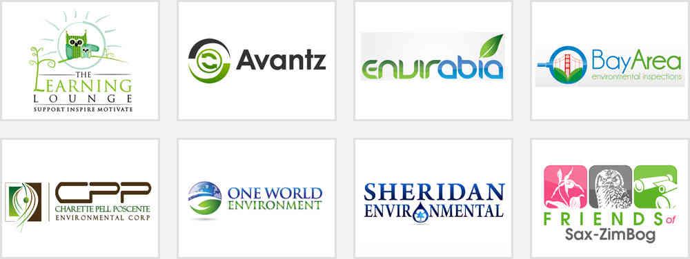 environmental care logos