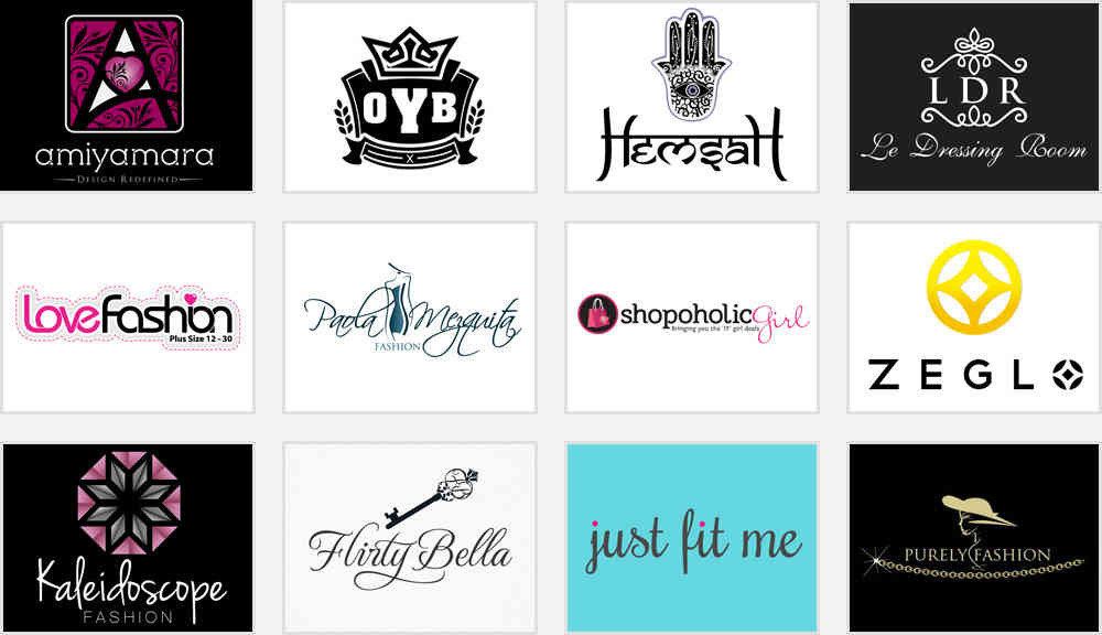 apparel and fashion logos