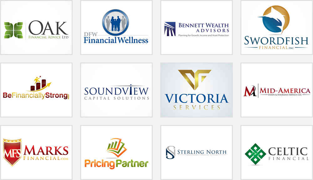 Financial Service Company Brand Logo Strategies Here Zillion Designs