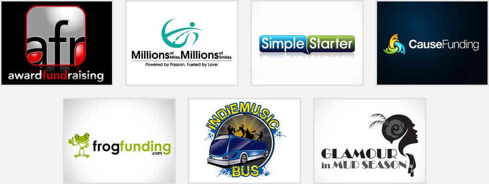 fund raising logo design samples