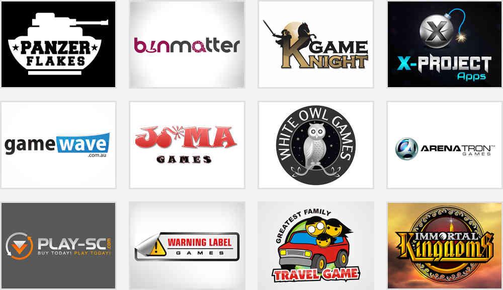 Games logo design samples
