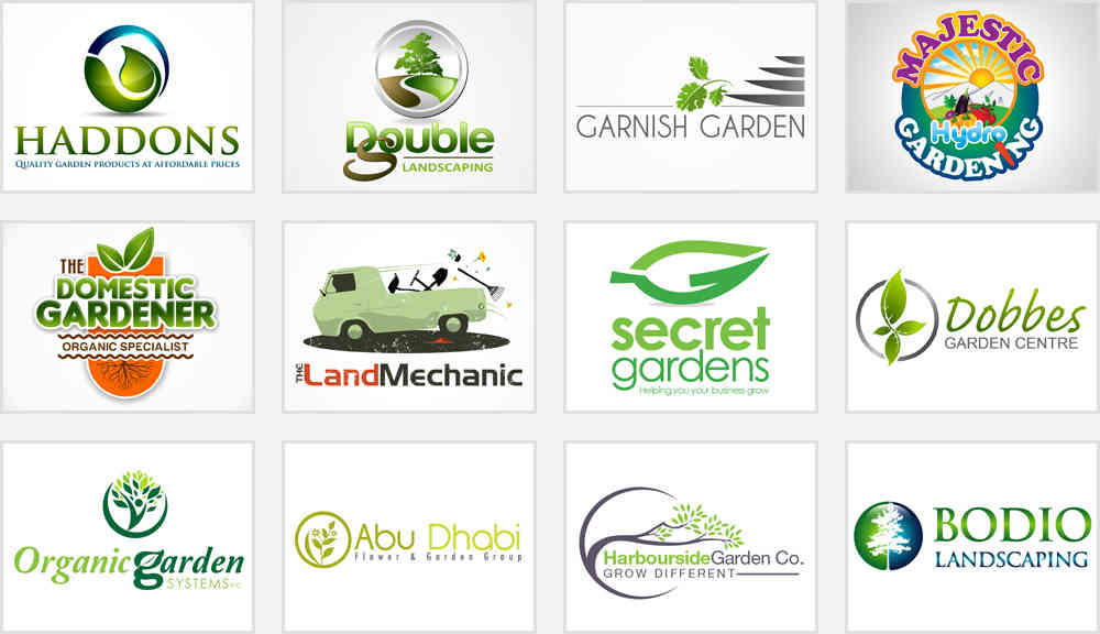 5 logo tips to make your gardening landscaping company for Gardening and landscaping services