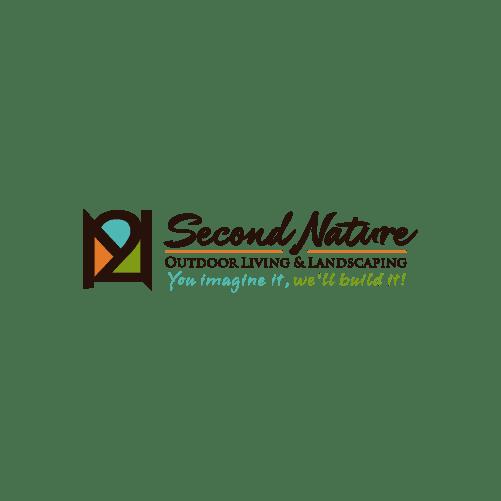 abstract door landscaping logo