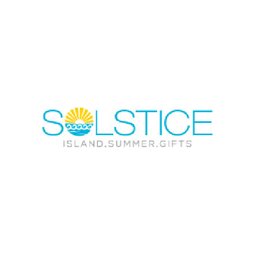 waves and sun gift shop logo design