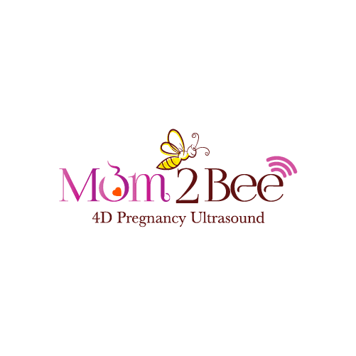 signal and bee logo for pregnancy ultrasound company