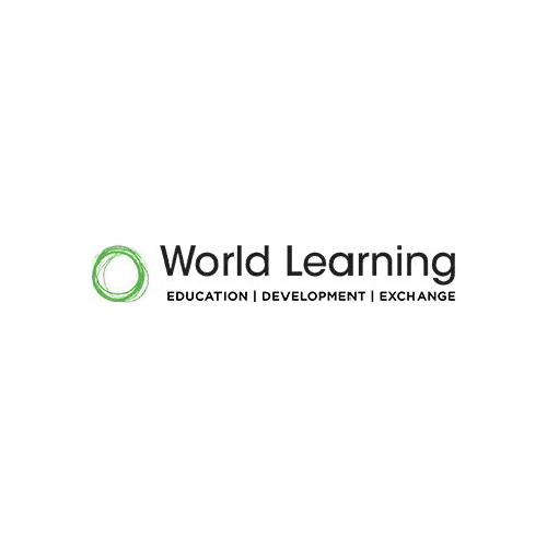 circle icon world learning logo