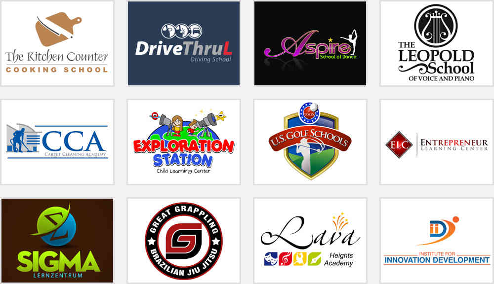 Learning and Education Institute Logos for Inspiration