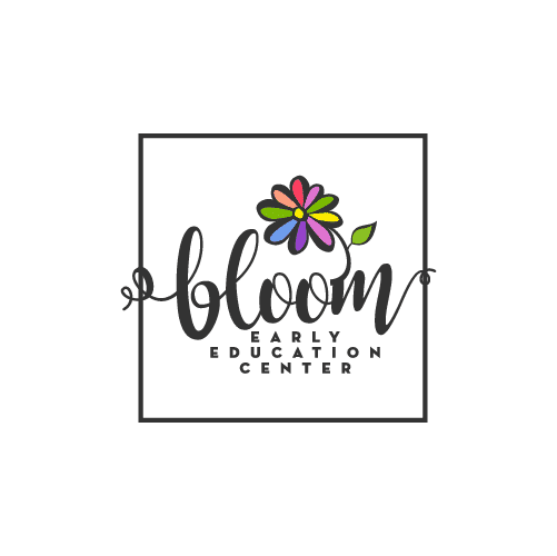 colorful flower education logo