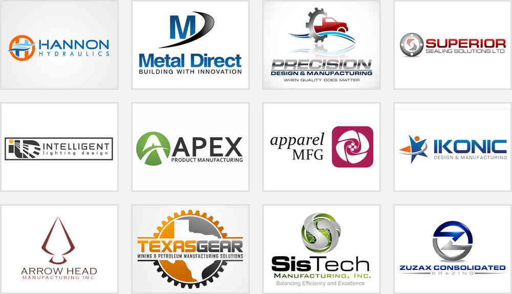 Unconventional Manufacturing Service Logo Designs ...  Unconventional ...