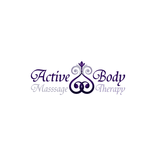 ornament flower massage therapy logo