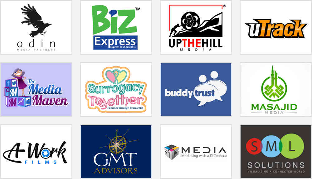 media company logo design ideas