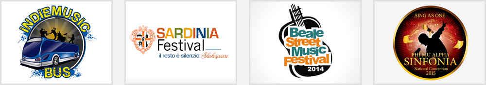 music festival logo design ideas
