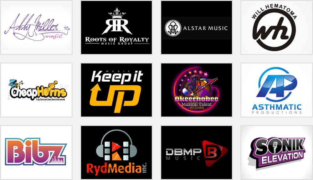 music studio logo ideas