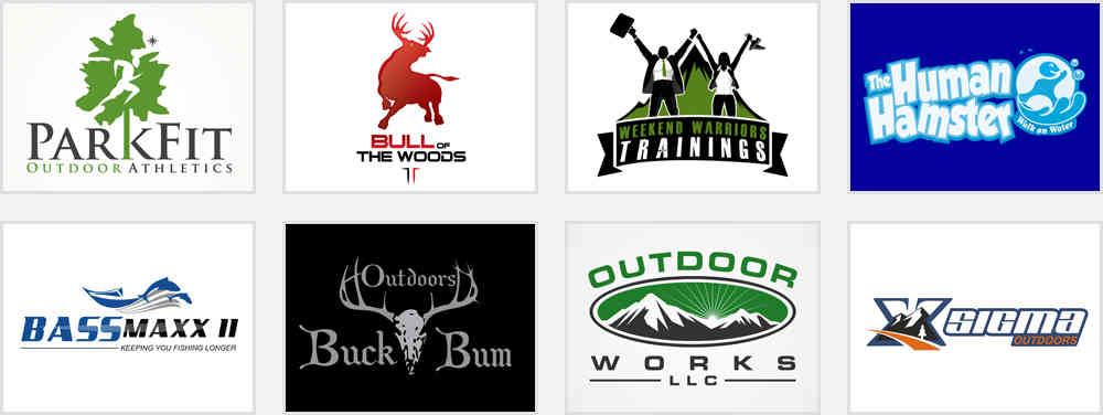professional outdoor activity club logos