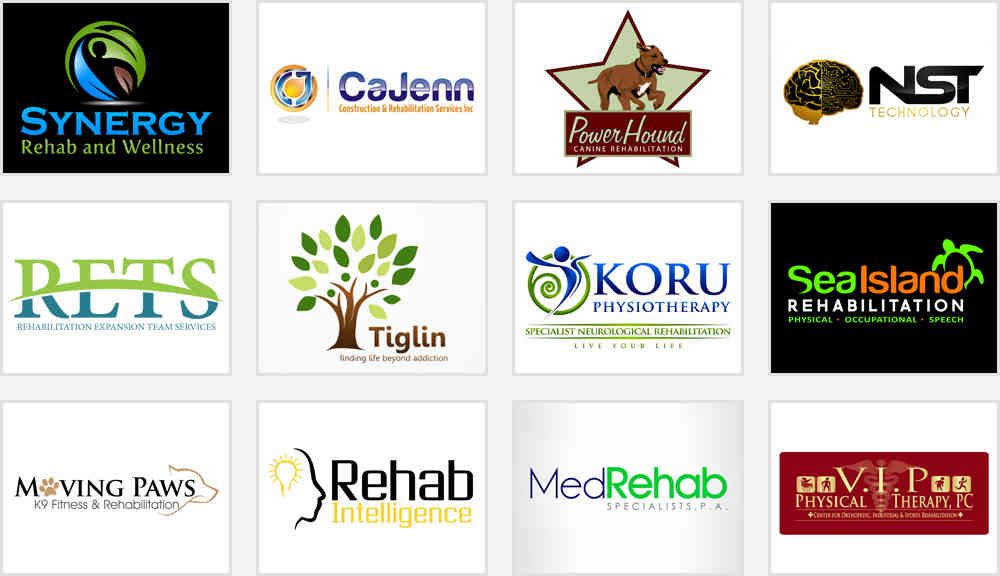 rehab center logo design ideas