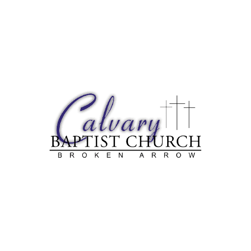 Calvary Baptist Church Logo with crosses