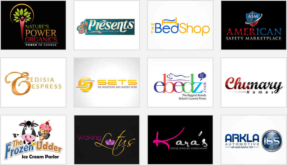 retail service logo design inspirations