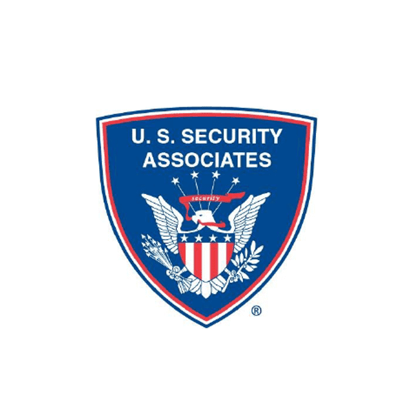 eagle in shield illustration security company logo